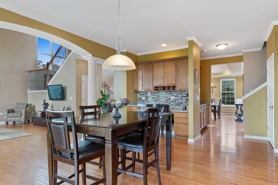 Real Estate Photography - 1276 Twilight Way, Bolingbrook, IL, 60490 - Breakfast Area