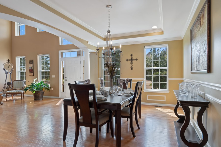 Real Estate Photography - 1276 Twilight Way, Bolingbrook, IL, 60490 - Dining Area