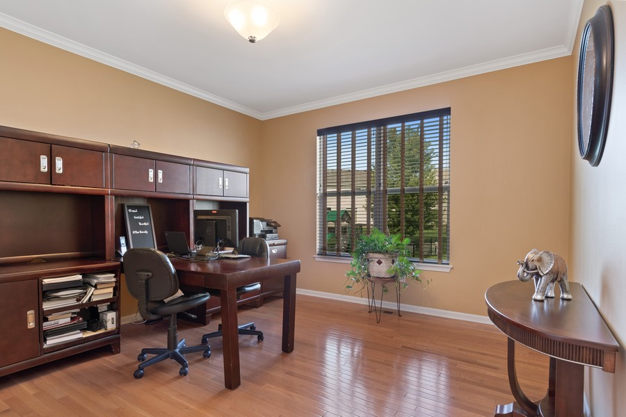 Real Estate Photography - 1276 Twilight Way, Bolingbrook, IL, 60490 - Office