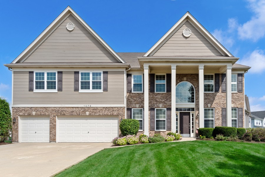 Real Estate Photography - 1276 Twilight Way, Bolingbrook, IL, 60490 - Front View