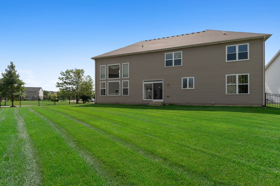 Real Estate Photography - 1276 Twilight Way, Bolingbrook, IL, 60490 - Rear View