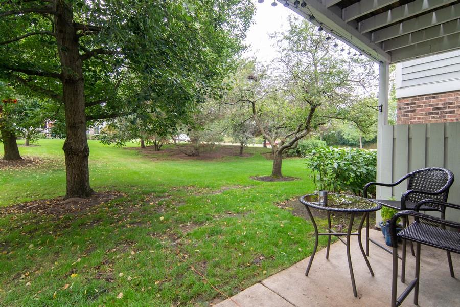 Real Estate Photography - 1181 Auburn Ln, 1181, Buffalo Grove, IL, 60089 - Back Yard