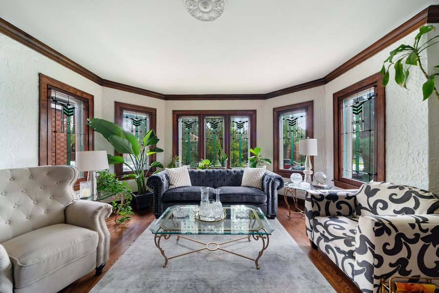Real Estate Photography - 5328 West Pensacola Ave, Chicago, IL, 60641 - Living Room