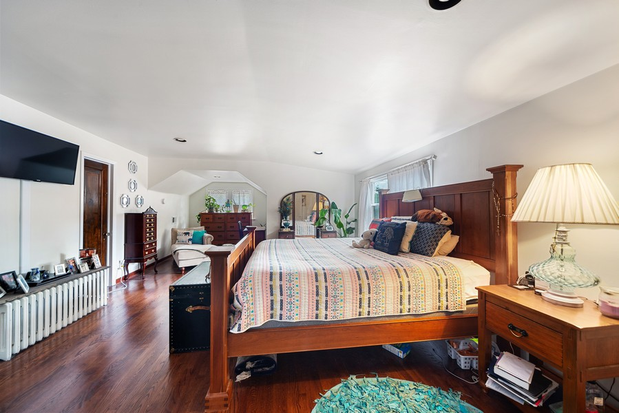 Real Estate Photography - 5328 West Pensacola Ave, Chicago, IL, 60641 - Master Bedroom
