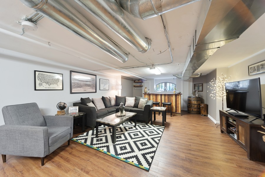 Real Estate Photography - 5328 West Pensacola Ave, Chicago, IL, 60641 - Lower Level