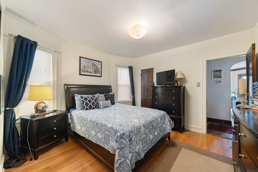 Real Estate Photography - 5328 West Pensacola Ave, Chicago, IL, 60641 - Bedroom