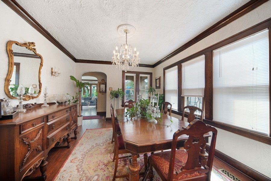 Real Estate Photography - 5328 West Pensacola Ave, Chicago, IL, 60641 - Dining Room