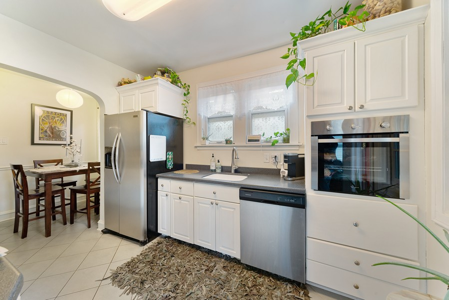 Real Estate Photography - 5328 West Pensacola Ave, Chicago, IL, 60641 - Kitchen