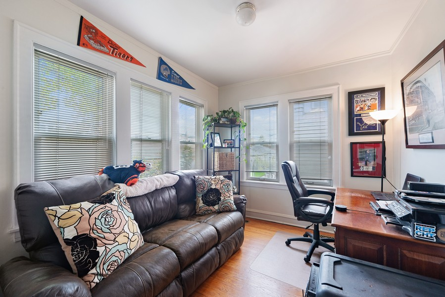 Real Estate Photography - 5328 West Pensacola Ave, Chicago, IL, 60641 - Den