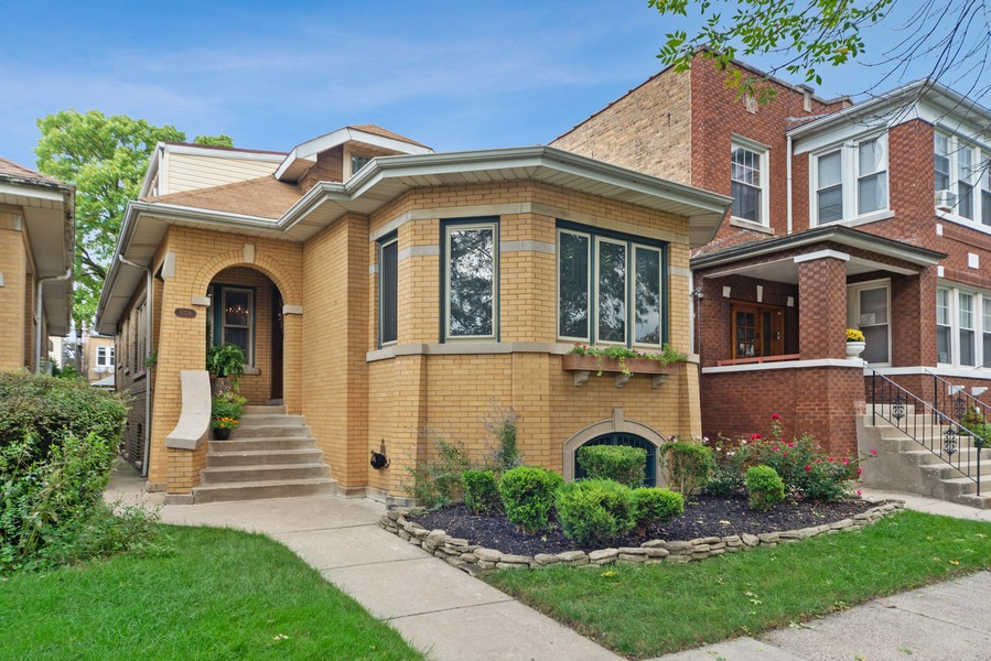 Real Estate Photography - 5328 West Pensacola Ave, Chicago, IL, 60641 - Front View