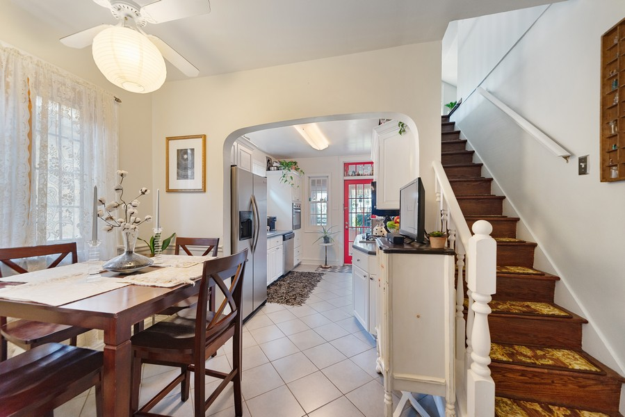 Real Estate Photography - 5328 West Pensacola Ave, Chicago, IL, 60641 - Breakfast Nook