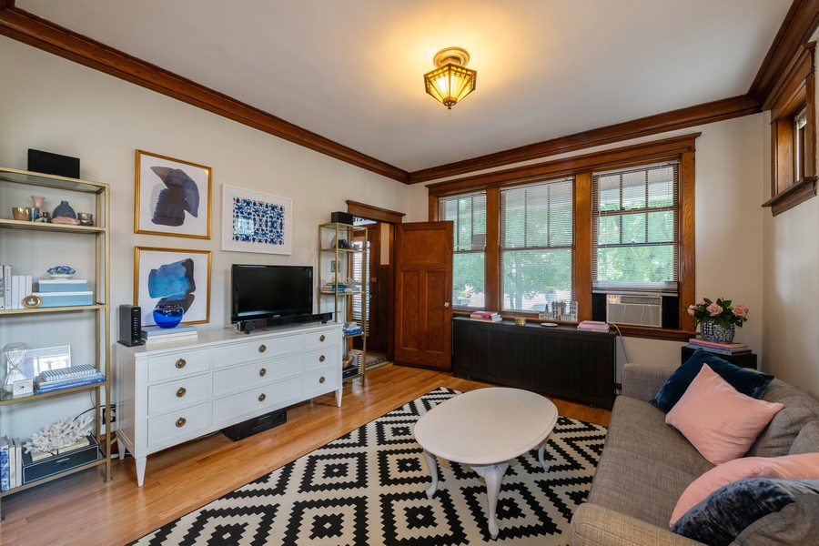 Real Estate Photography - 2216 Grove Ave, Berwyn, IL, 60402 - Living Room