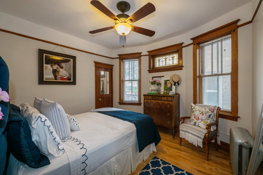 Real Estate Photography - 2216 Grove Ave, Berwyn, IL, 60402 - Master Bedroom
