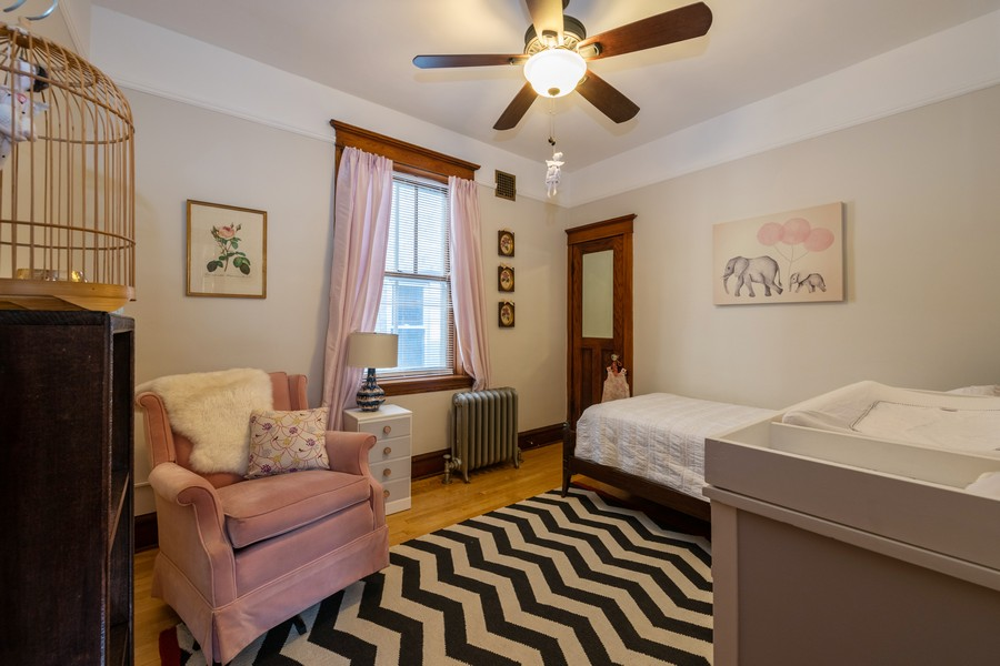 Real Estate Photography - 2216 Grove Ave, Berwyn, IL, 60402 - 2nd Bedroom