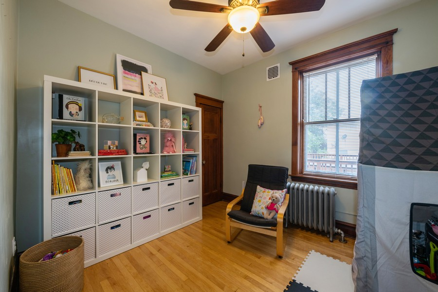 Real Estate Photography - 2216 Grove Ave, Berwyn, IL, 60402 - 3rd Bedroom