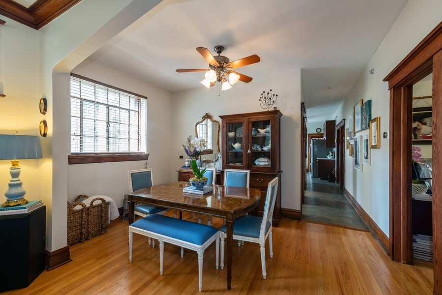 Real Estate Photography - 2216 Grove Ave, Berwyn, IL, 60402 - Dining Room