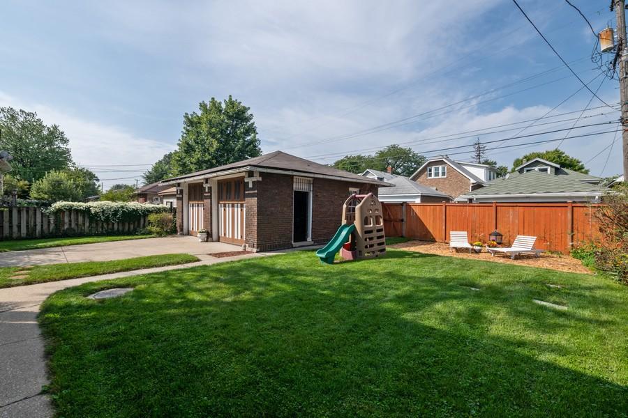 Real Estate Photography - 2216 Grove Ave, Berwyn, IL, 60402 - Back Yard
