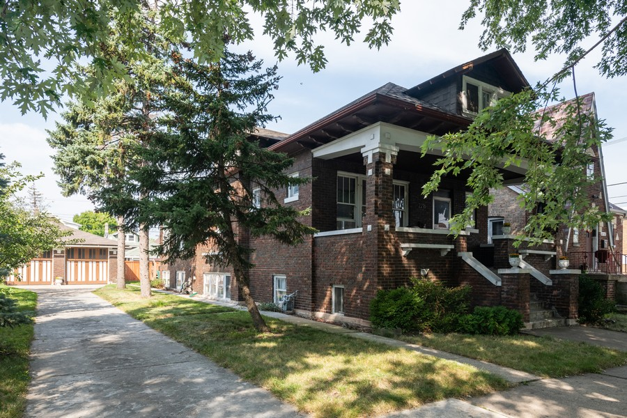 Real Estate Photography - 2216 Grove Ave, Berwyn, IL, 60402 - Front View