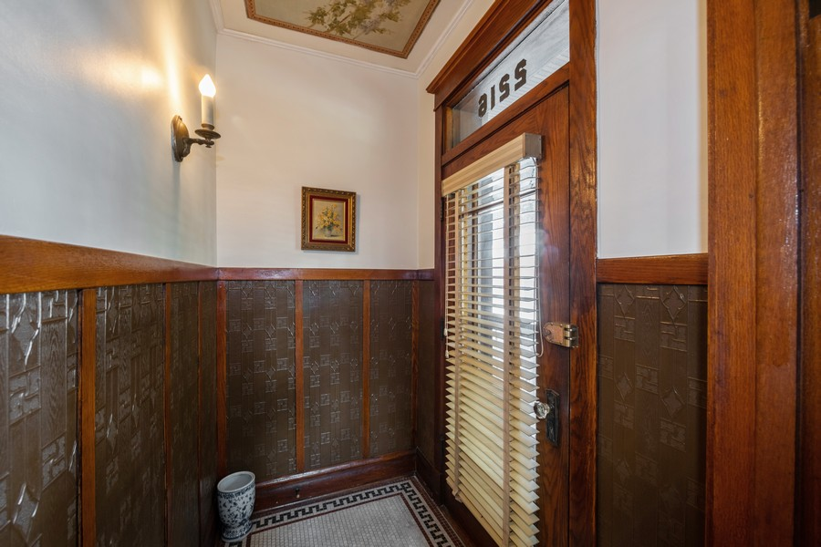 Real Estate Photography - 2216 Grove Ave, Berwyn, IL, 60402 - Foyer