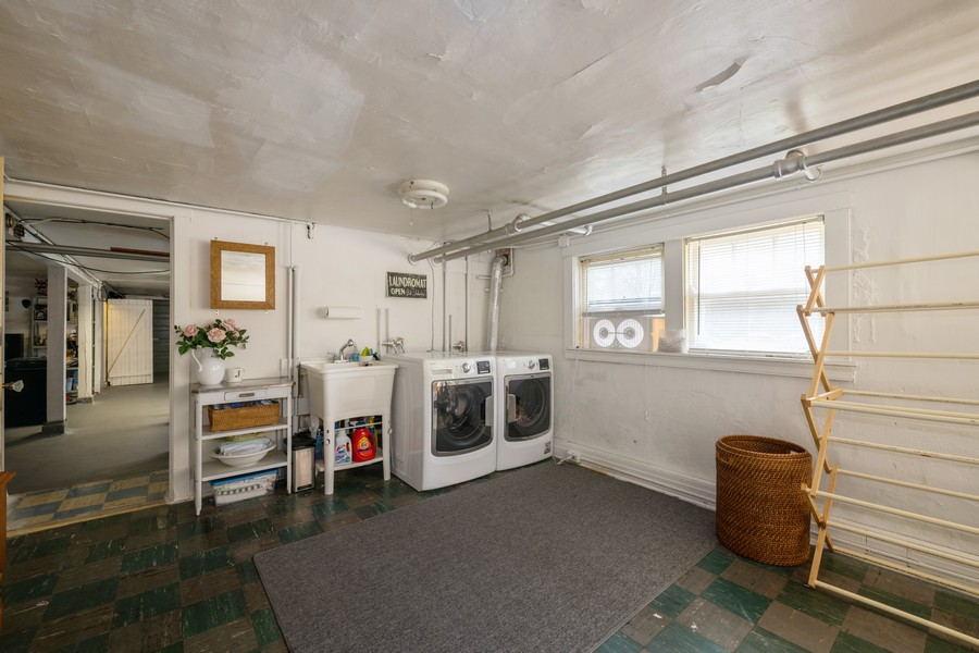 Real Estate Photography - 2216 Grove Ave, Berwyn, IL, 60402 - Laundry Room