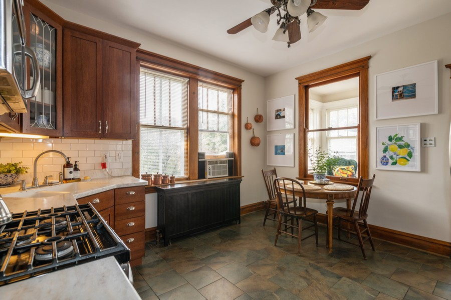 Real Estate Photography - 2216 Grove Ave, Berwyn, IL, 60402 - Kitchen