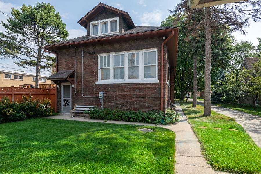 Real Estate Photography - 2216 Grove Ave, Berwyn, IL, 60402 - Rear View