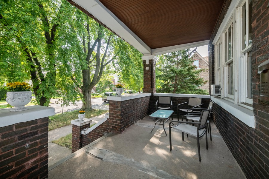 Real Estate Photography - 2216 Grove Ave, Berwyn, IL, 60402 - Porch