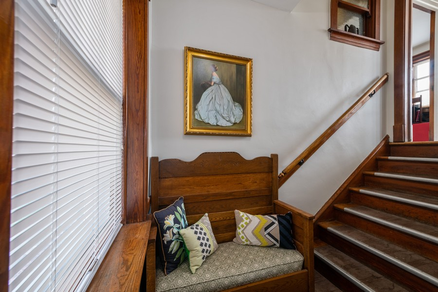 Real Estate Photography - 2216 Grove Ave, Berwyn, IL, 60402 - Staircase