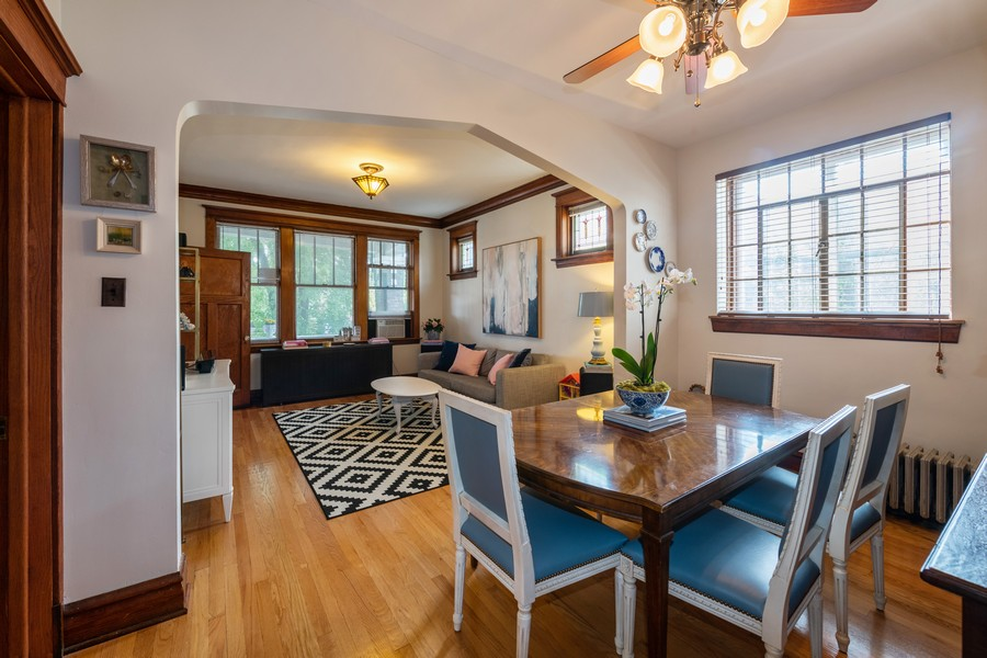 Real Estate Photography - 2216 Grove Ave, Berwyn, IL, 60402 - Living Room/Dining Room