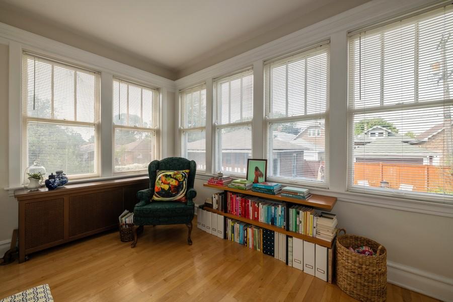Real Estate Photography - 2216 Grove Ave, Berwyn, IL, 60402 - Sun Room