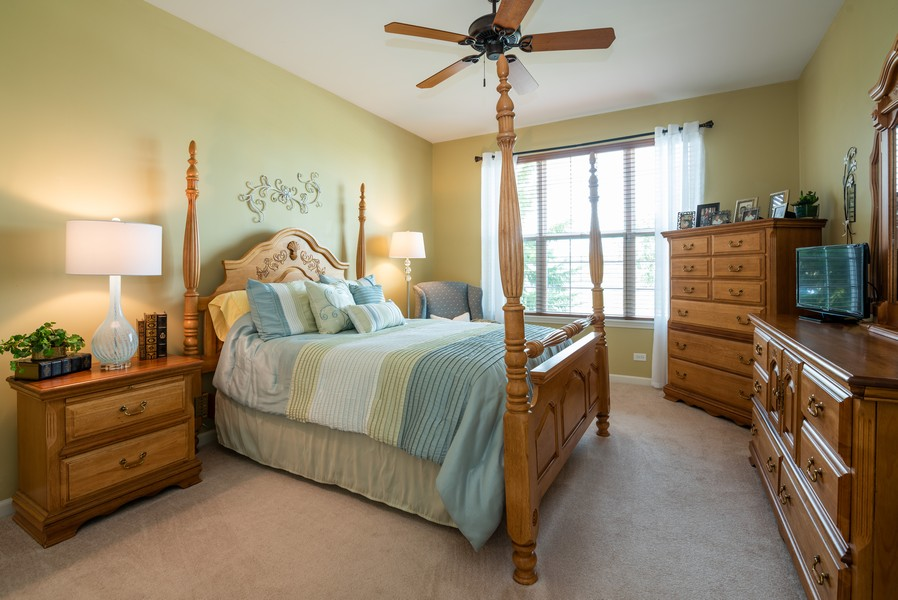 Real Estate Photography - 2781 Harnish Dr, Algonquin, IL, 60102 - 2nd Bedroom