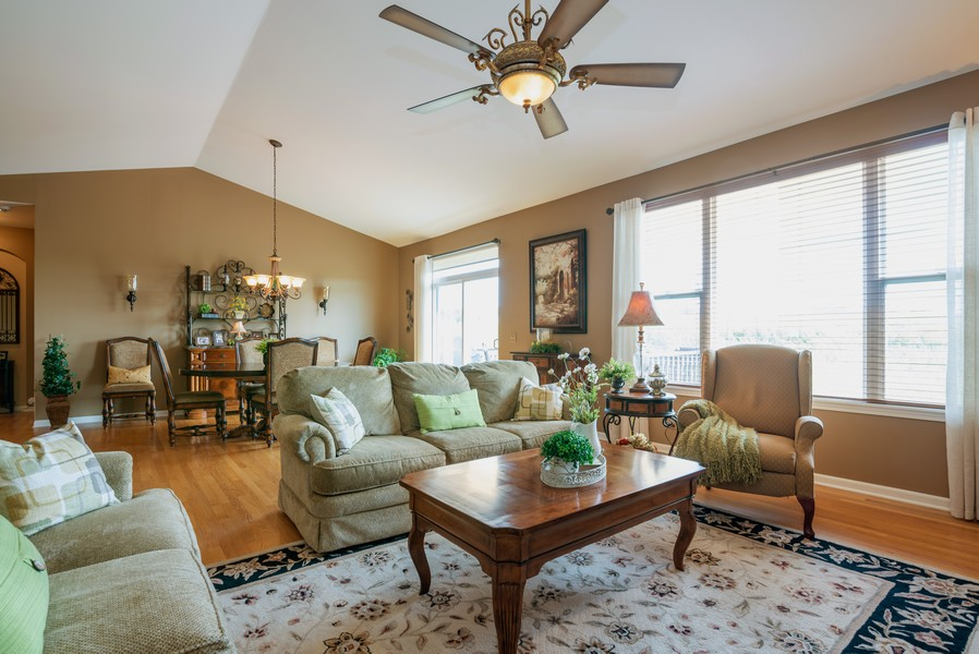 Real Estate Photography - 2781 Harnish Dr, Algonquin, IL, 60102 - Living Room