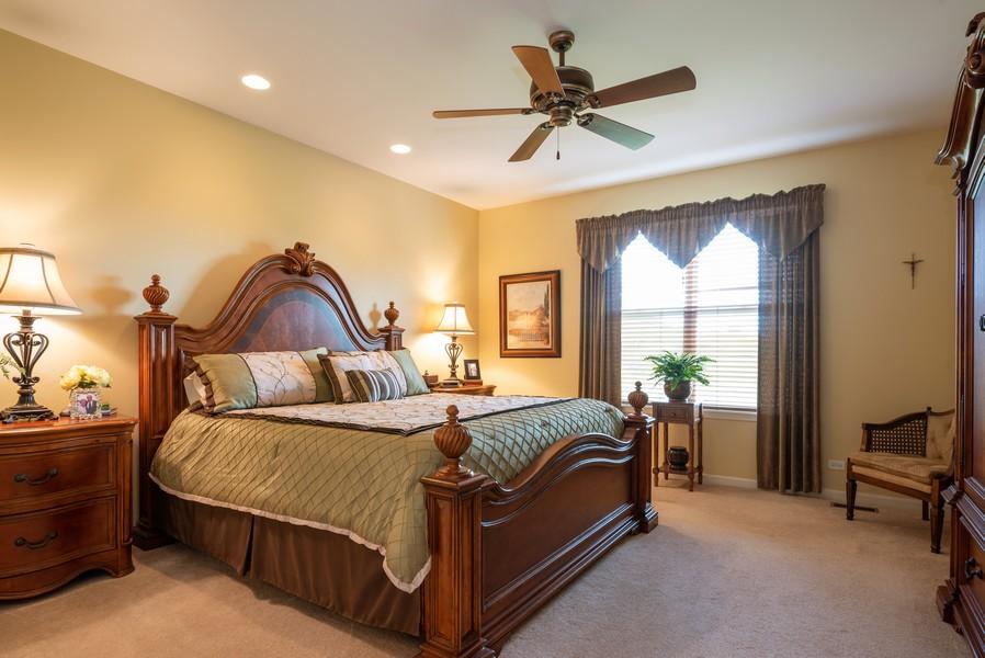 Real Estate Photography - 2781 Harnish Dr, Algonquin, IL, 60102 - Master Bedroom