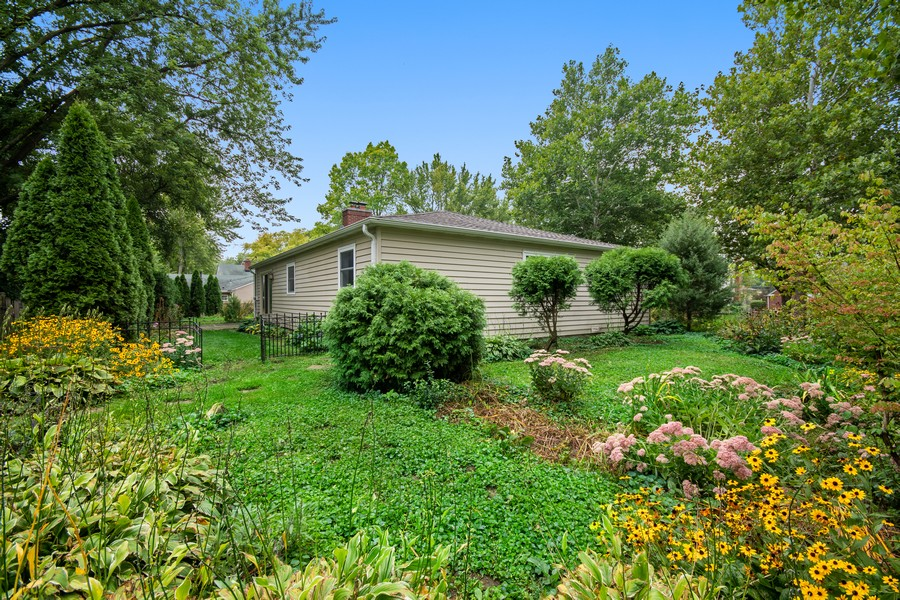 Real Estate Photography - 1228 Suffolk St, Naperville, IL, 60563 - Back Yard