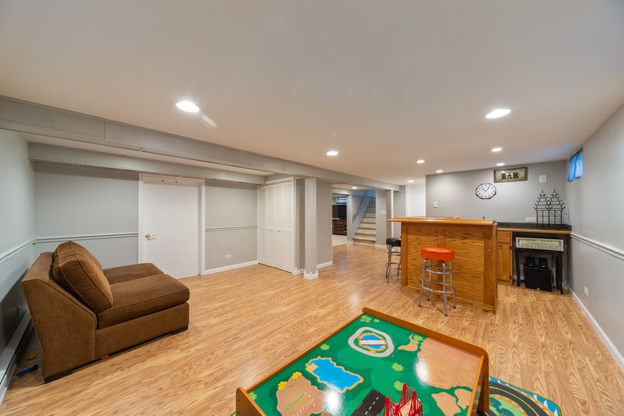 Real Estate Photography - 1650 Downing Ave, Westchester, IL, 60154 - Basement