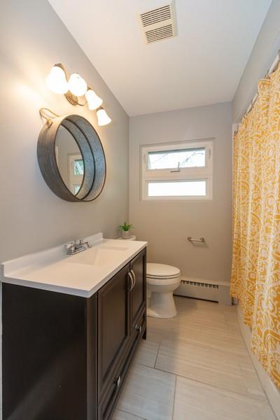Real Estate Photography - 1650 Downing Ave, Westchester, IL, 60154 - 2nd Bathroom