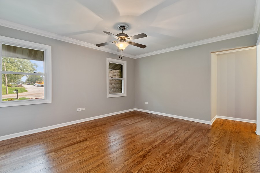 Real Estate Photography - 318 Ohio Rd, Frankfort, IL, 60423 - Master Bedroom