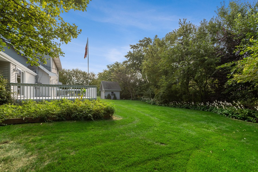 Real Estate Photography - 318 Ohio Rd, Frankfort, IL, 60423 - Back Yard