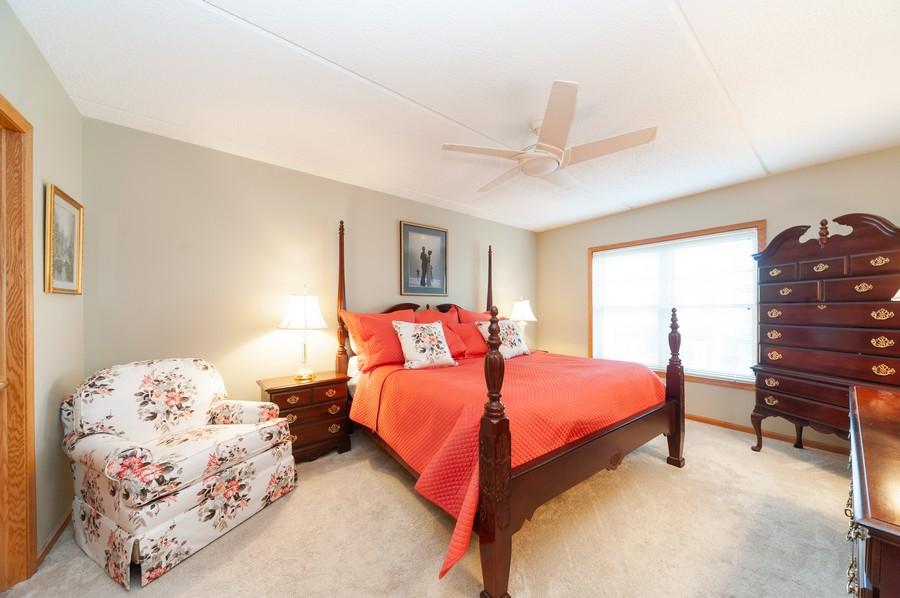 Real Estate Photography - 200 West Campbell St, 609, Arlington Heights, IL, 60005 - Master Bedroom