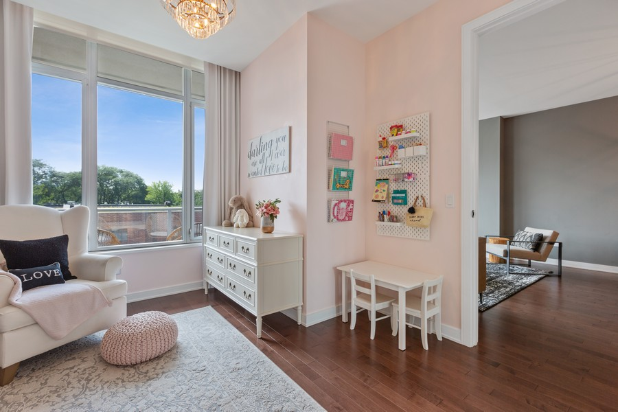 Real Estate Photography - 540 West Webster Ave, 307, Chicago, IL, 60614 - 2nd Bedroom