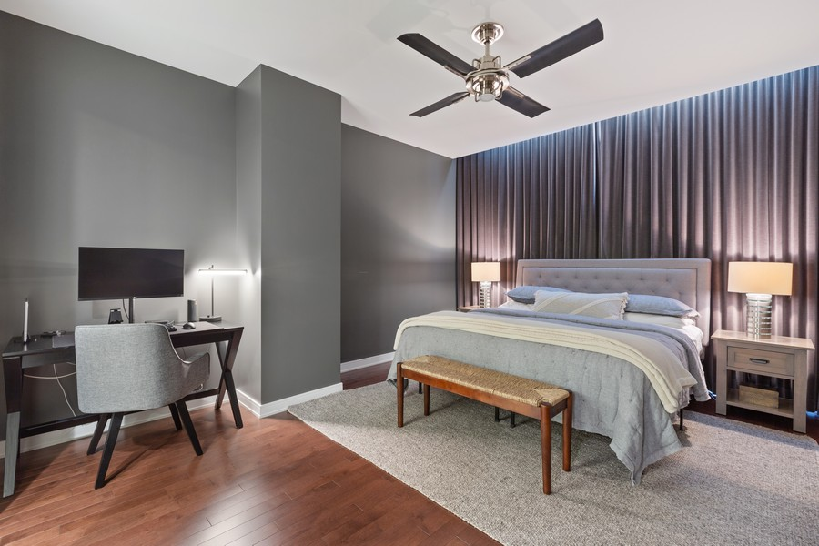 Real Estate Photography - 540 West Webster Ave, 307, Chicago, IL, 60614 - Master Bedroom