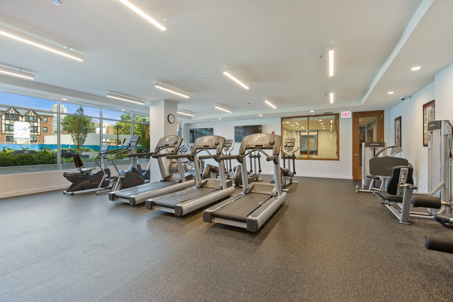 Real Estate Photography - 540 West Webster Ave, 307, Chicago, IL, 60614 - Exercise Room