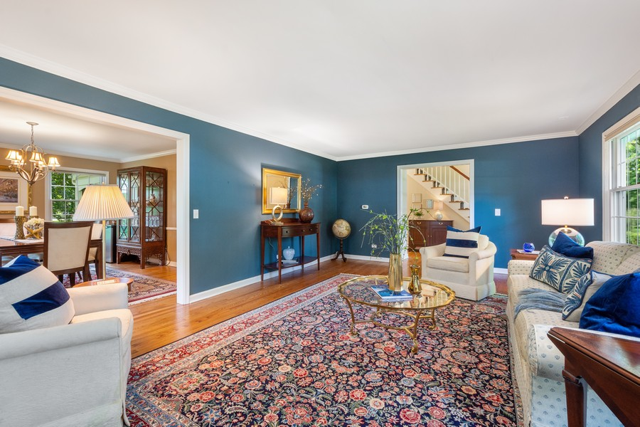 Real Estate Photography - 455 West Sunset Rd, Barrington, IL, 60010 - Living Room
