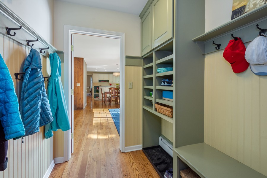Real Estate Photography - 455 West Sunset Rd, Barrington, IL, 60010 - Mudroom