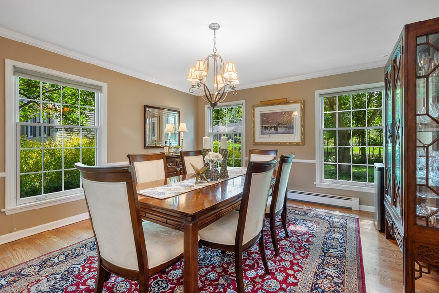 Real Estate Photography - 455 West Sunset Rd, Barrington, IL, 60010 - Dining Room