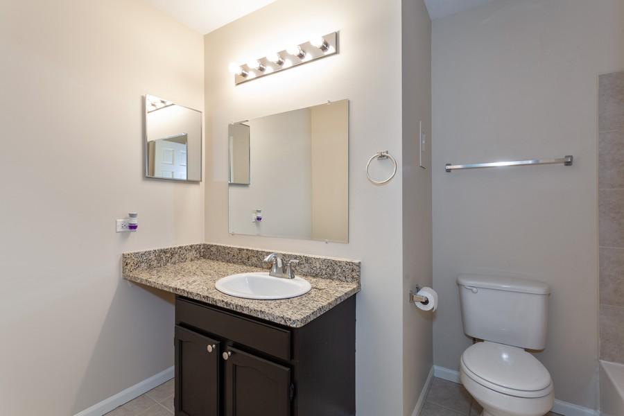 Real Estate Photography - 1733 Cumberland Rd, Aurora, IL, 60504 - Master Bathroom