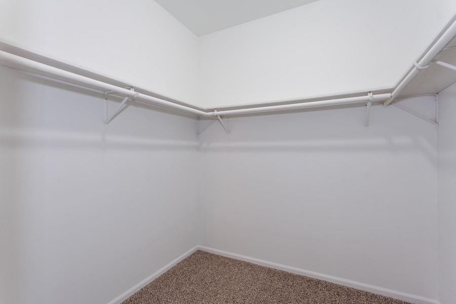 Real Estate Photography - 1733 Cumberland Rd, Aurora, IL, 60504 - Master Bedroom Closet