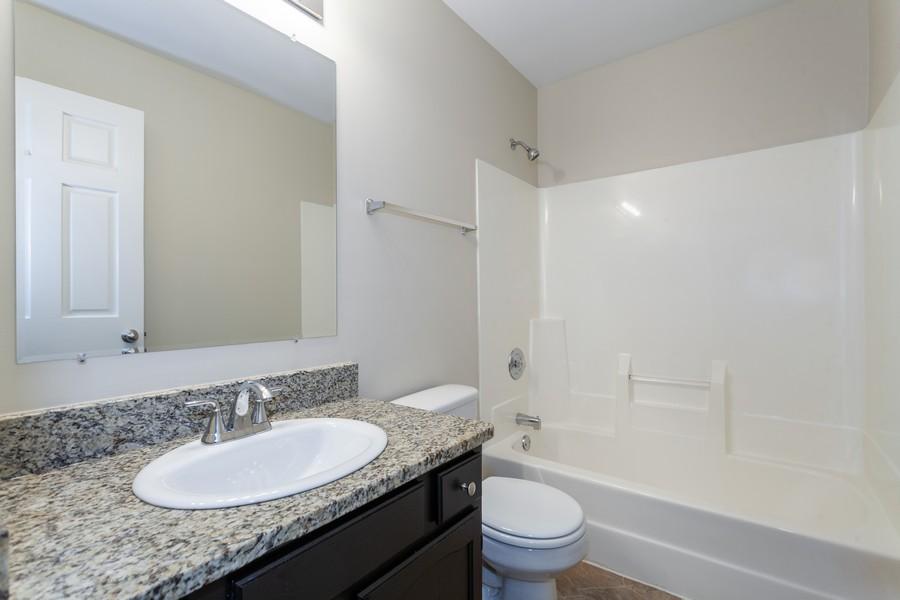 Real Estate Photography - 1733 Cumberland Rd, Aurora, IL, 60504 - Bathroom