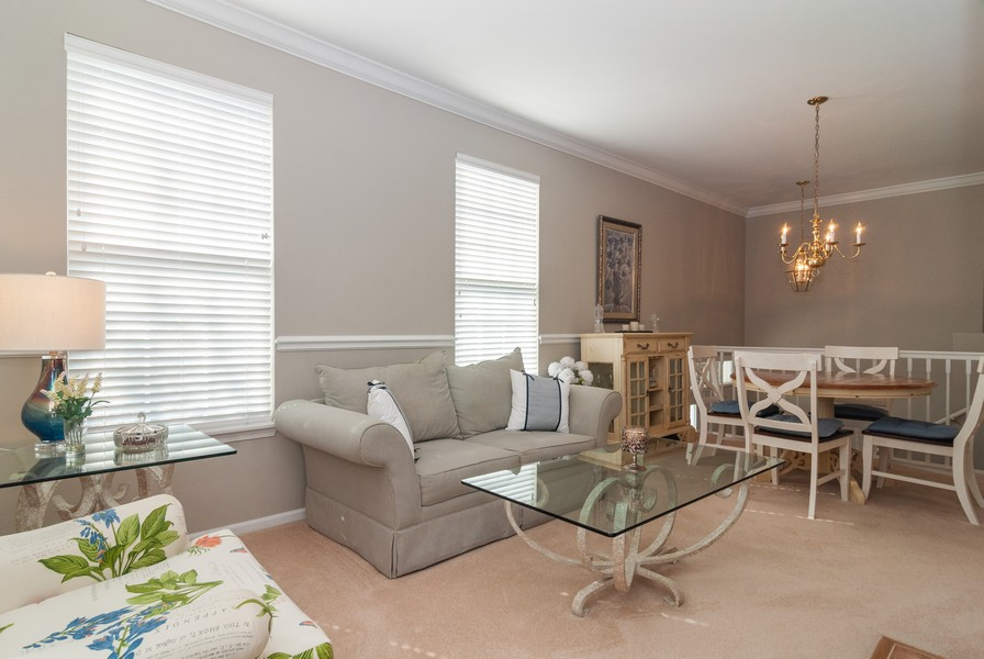 Real Estate Photography - 608 Declaration Ln, Aurora, IL, 60502 - Living Room