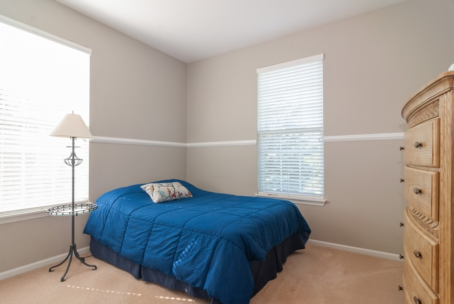 Real Estate Photography - 608 Declaration Ln, Aurora, IL, 60502 - 2nd Bedroom
